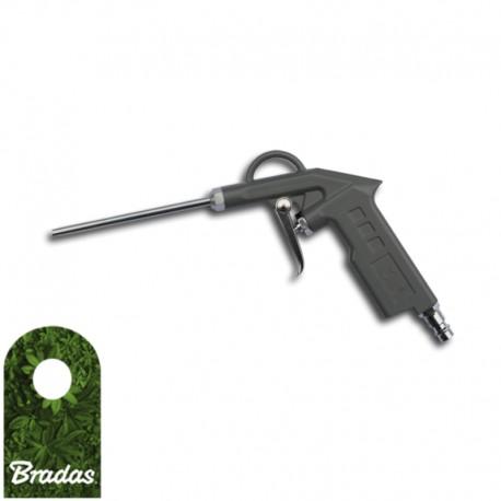 Druckluft Ausblaspistole Druckluftpistole mit 3 Düsen Luftpistole Werkzeug DHL