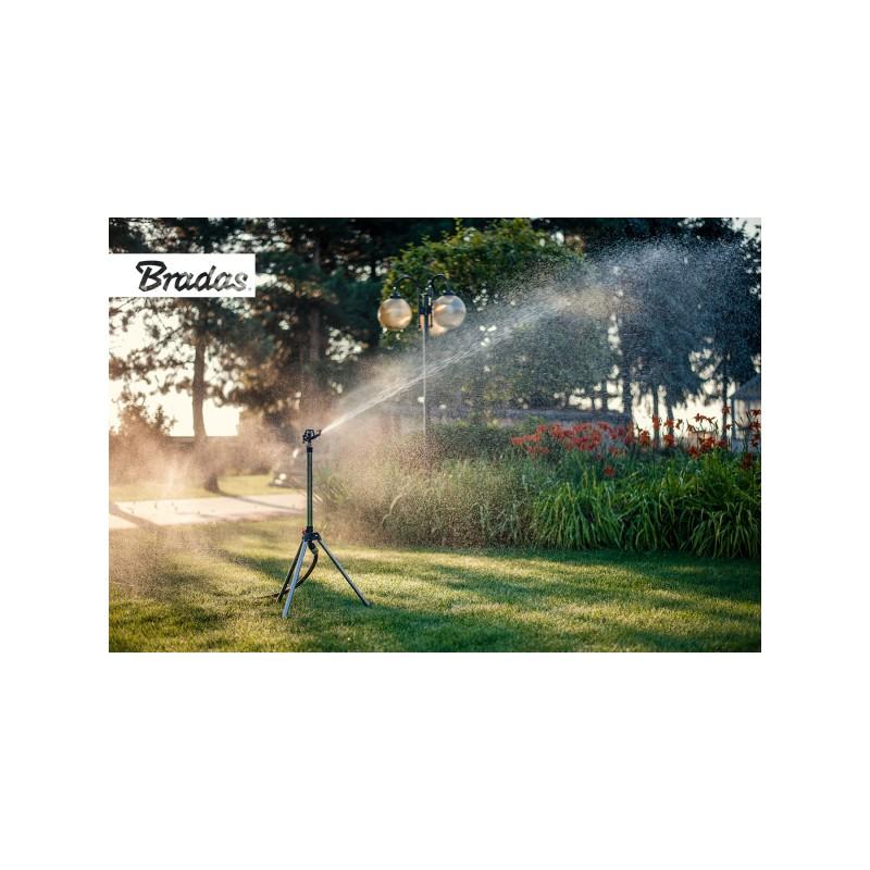 Rasensprenger Gro/ße Fl/ächen Metall Sprinkler Kreisregner Impulsregner Gartenbew/ässerung 1//2 Zoll 280 Grad Bambelaa