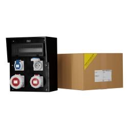 Baustromverteiler Vollgummi HD IP67 32A/5P 16A/5P 2x230V Doktorvolt® 9535