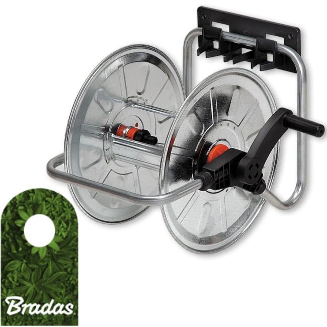 Bradas Schlauchtrommel Adjustable Wall Winder for 1//2/Inch Hose 50/m