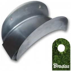 Wandschlauchhalter aus Metall für Gartenschlauch