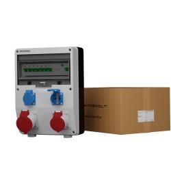 Baustromverteiler ECO-S/FI 1x16A 1x32A 2x230V Doktorvolt 2633