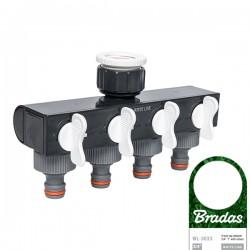 4 Wege-Verteiler Wasserverteiler