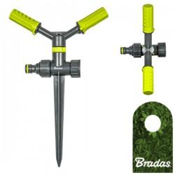 2-Arm Kreisregner mit Erdspieß Sprinkler