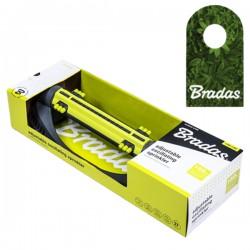 Bradas Viereckregner Rasensprenger Regner Sprinkler mit Aluminiumarm 16 D/üsen Lime LINE LE-6302 2198