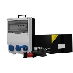 Stromverteiler TD-S/FI 3x230V SKH Kabel Stromzähler