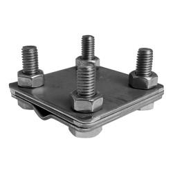 Universalverbinder 4-Schraubig Blitzschutzgriff M8