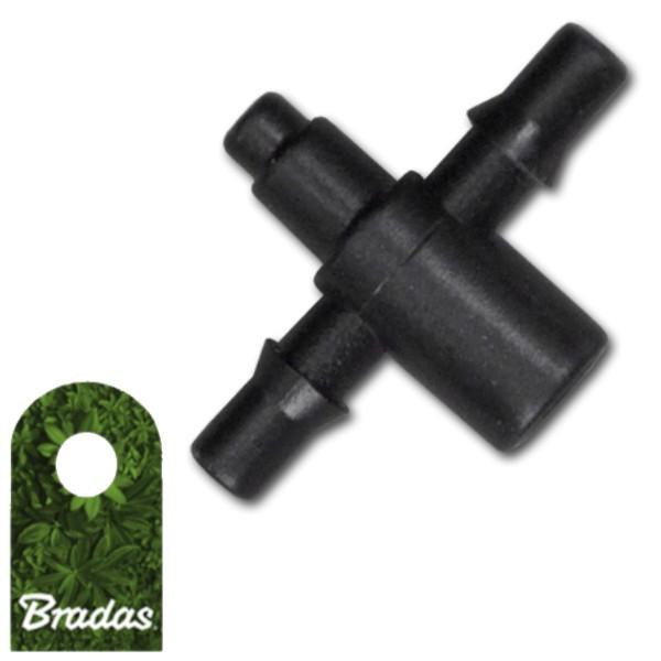 Verbinder für Pfeil Tropfer Tropfschlauch 5mm Schlauchtülle 3x5mm Bradas 0421