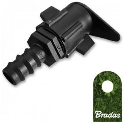 Bradas Zubehör für Tropfschlauch T-Stück 3x16mm Erweiterungsstück 7317