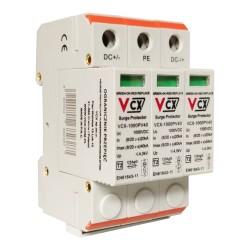 Überspannungsschutz 1000V DC 3P 12,5kA B+C Gas Ableiter 2363