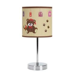Tischlampe NUKA E14 BROWN