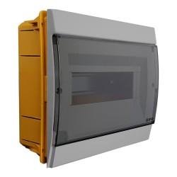 Unterputz Verteilerkasten IP40 8/10 Module grau 970.08 M-L 0926