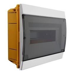 Unterputz Verteilerkasten IP40 8/10 Module weiß 970.08.B M-L 0933