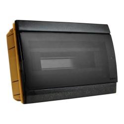 Unterputz Verteilerkasten IP40 10/14 Module schwarz 970.12.N M-L 1039