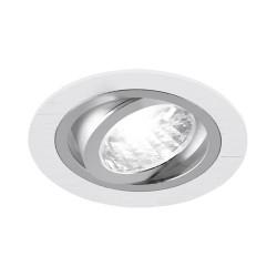 Einbaustrahler GU10 ALUM C WHITE/CHROME IDEUS 2227