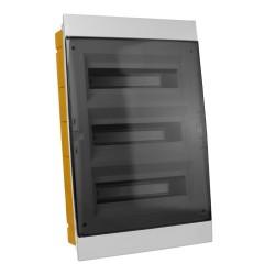 Unterputz Verteilerkasten IP40 36/39 Module grau 970.36 M-L 1114