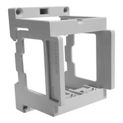 Sockel für Marlanvil Einbausteckdosen für DIN Schiene 3803