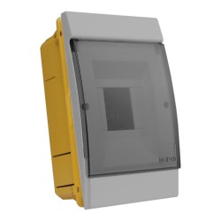 Unterputz Verteilerkasten IP40 2/4 Module grau M-L 0803