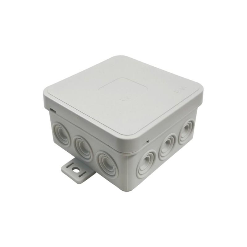 Aufputz Abzweigkasten IP54 weiß Verbindungsdose Abzweigdose 2643