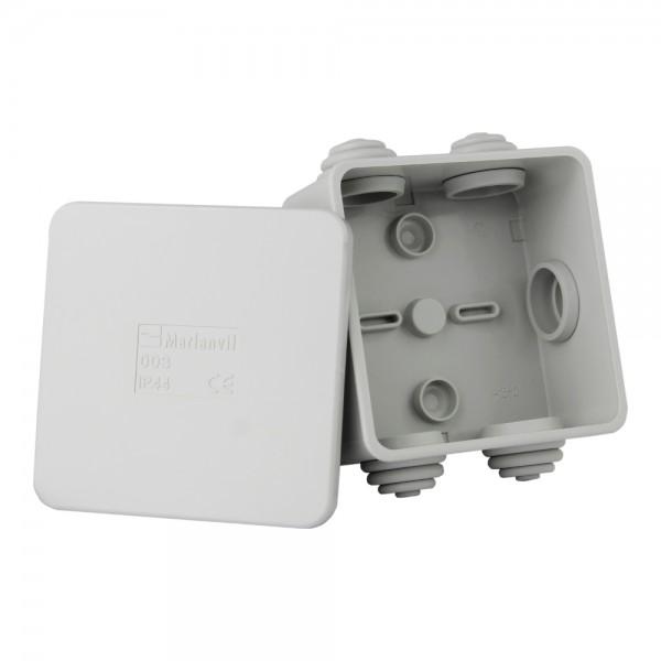 Abzweigdose Aufputz Abzweigkasten Verbindungsdose IP44 80x80x40 M-L 0509
