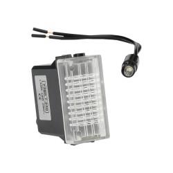 Leuchtmelder LED transparent 230V M-L 2130