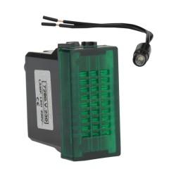 Leuchtmelder LED GREEN 230V M-L 2147