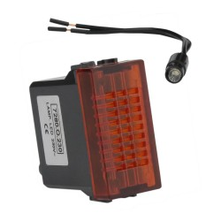 Leuchtmelder LED ORANGE 230V M-L 2116