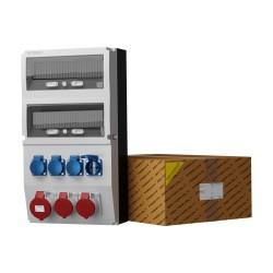 Stromverteiler eXT 32A 2x16A 4x230V