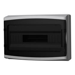 Verteilerkasten Feuchtraumverteiler IP65 18 Mod 1000V Sicherungskasten AP 940.18 M-L 4854