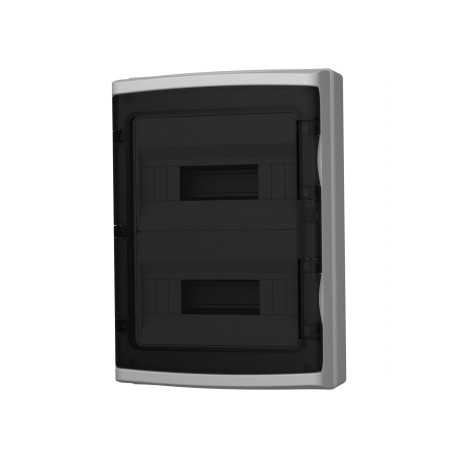 Verteilerkasten IP65 24 module (12+12)