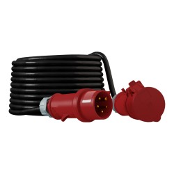 CEE Verlängerungskabel Kabel 20m 32A/5P IP44 Starkstromkabel 5x4mm2 Doktorvolt® 2636