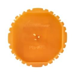 Putzdeckel Signaldeckel 70mm PTs70 rot für Schalterdosen 50 Stück E-P 3654