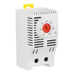 Hutschienen-Thermostat Öffner 10A NTF 0 - 60°C Schaltschrank XBS 8017