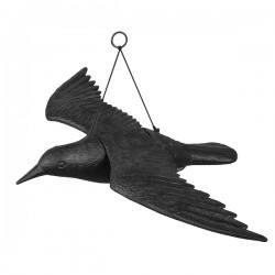 Vogelschreck Vogelabwehr Rabe 61/44/13cm