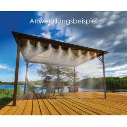 Gartenwassernebel 7,5m WHITE LINE