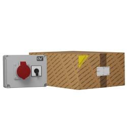 Wanddose WDD 1x16A Nockenschalter 16A L-0-P Doktorvolt® 6091