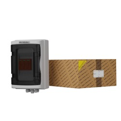 Solar Anschlusskasten Photovoltaik PV 1000V T2 4M Kabelverschraubung PG 2445