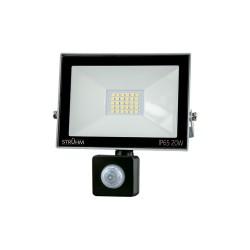 LED Scheinwerfer mit Bewegungssensor KROMA 20W GRAU 4500K 1600lm IP65 IDEUS 6058
