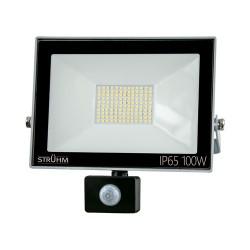 LED Scheinwerfer mit Bewegungssensor KROMA 100W GRAU 4500K 8000lm IP65 IDEUS 6089
