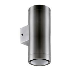 Außenlampe Wandleuchte ASTER 2xGU10 INOX Strühm 0162