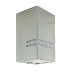 Außenlampe Fassadenleuchte KELER GU10 INOX Strühm 0179