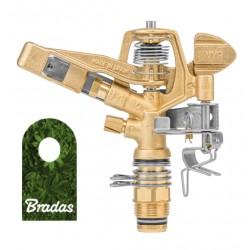 """Messing Sprinkler 35m AG 1/2"""" 360°"""