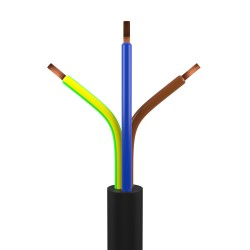 1m Installationskabel 3Gx2,5 1000V RV-K