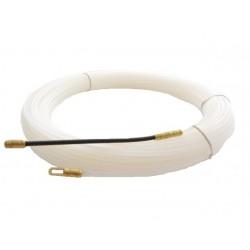 Einziehband Nylon 10m Einziehspirale mit Suchfeder Band, Zugband