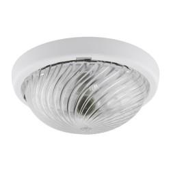 Außen Deckenlampe WIR 75 WHITE E27 IP44