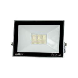 LED Scheinwerfer KROMA 50W GRAU 4500K 4000lm IP65 IDEUS 2357