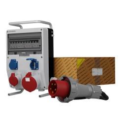 Stromverteiler TD-S/FI 63A 16A 2x230V SKH