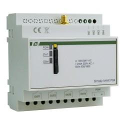 GSM-Fernsteuerungsrelais SMS-Steuerung EIN / AUS / Alarm 4x Eingang 4x Ausgang