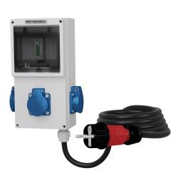 3x230V Mobiler Stromzähler MID 3x2.5mm2