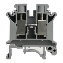 Reihenklemme 10mm2 Durchgangsklemme Grau DGN 3367